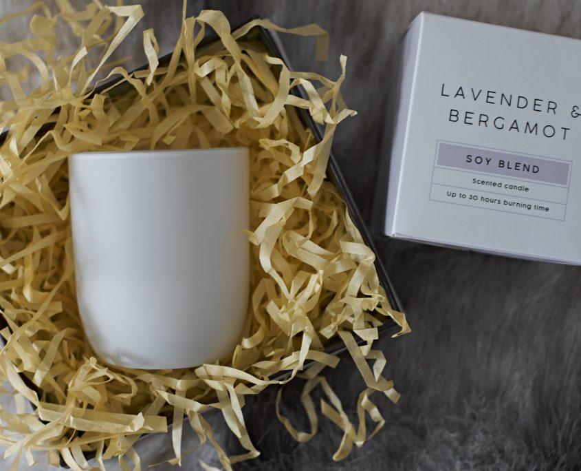 Candle, ScentedCandle, Lavender, Bergamot, Home