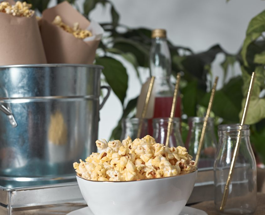 Popcorn, national popcorn day, according to Amelia, buttered popcorn, photoshoot, Popcorn bar, popcorn stand, popcorn party, party, snack, popcorn snack, rustic, rustic popcorn